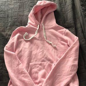 Basic light pink hoodie